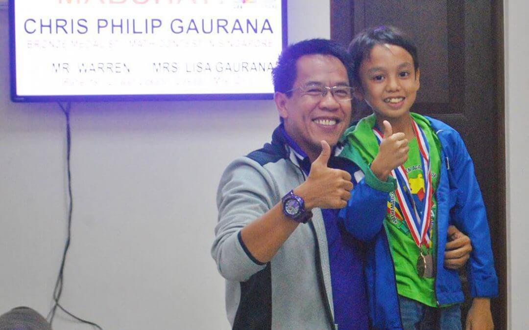 Bronze Medalist sa usa ka Math Contest
