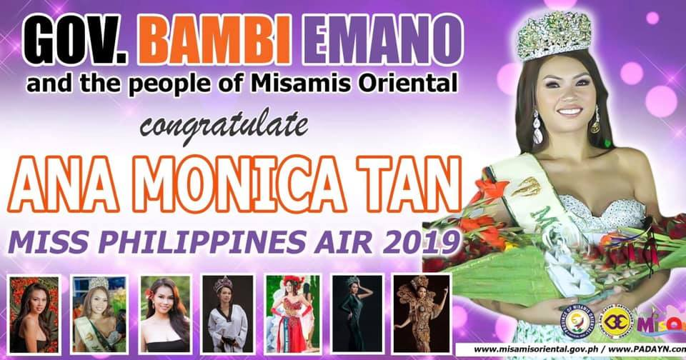 MISS PHILIPPINES AIR ANA MONICA TAN, DUNAY HOMECOMING SA MISOR