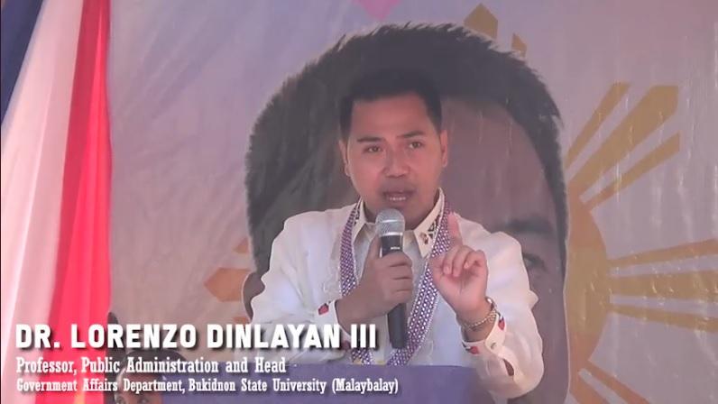 GUEST SPEAKER SA INDEPENDENCE DAY, NAKADAYEG SA MISAMIS ORIENTAL!