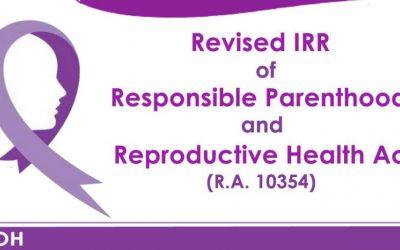 RESPONSIBLE PARENTHOOD & REPRODUCTIVE HEALTH ACT, HINGUSGAN SA KAPITOLYO
