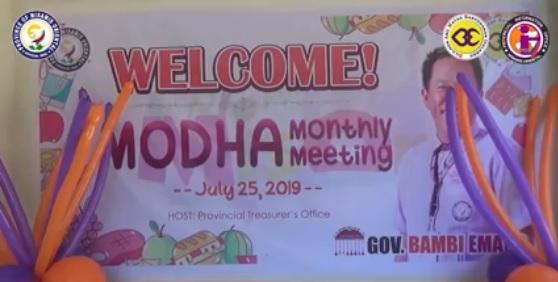 MODHA Monthly Meeting, gipahigayon!