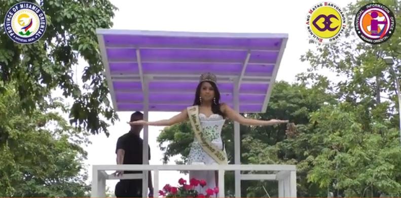 Motorcade ni Miss Philippines Air 2019 Ana Monica Tan, gidumog