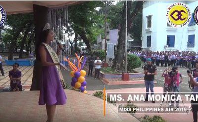 Miss Philippines Air 2019 Ana Monica Tan, mapasalamaton kang Gobernador Bambi