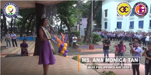 Miss Philippines Air 2019 Ana Monica Tan, mapasalamaton kang Gobernador Bambi
