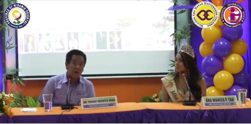 Gob. Bambi, 101 porsiyento si Miss Philippines Air 2019 Ana Monica Tan suportado