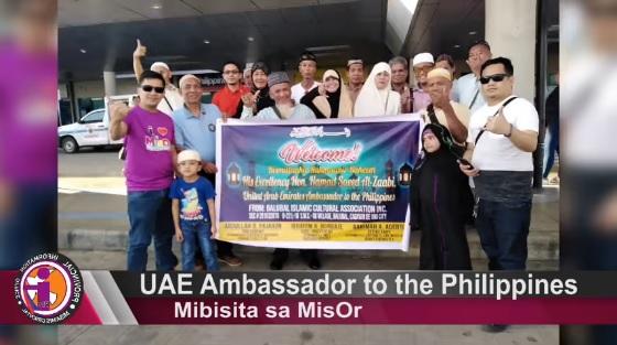 UAE Ambassador to the Philippines mibisita sa MisOr