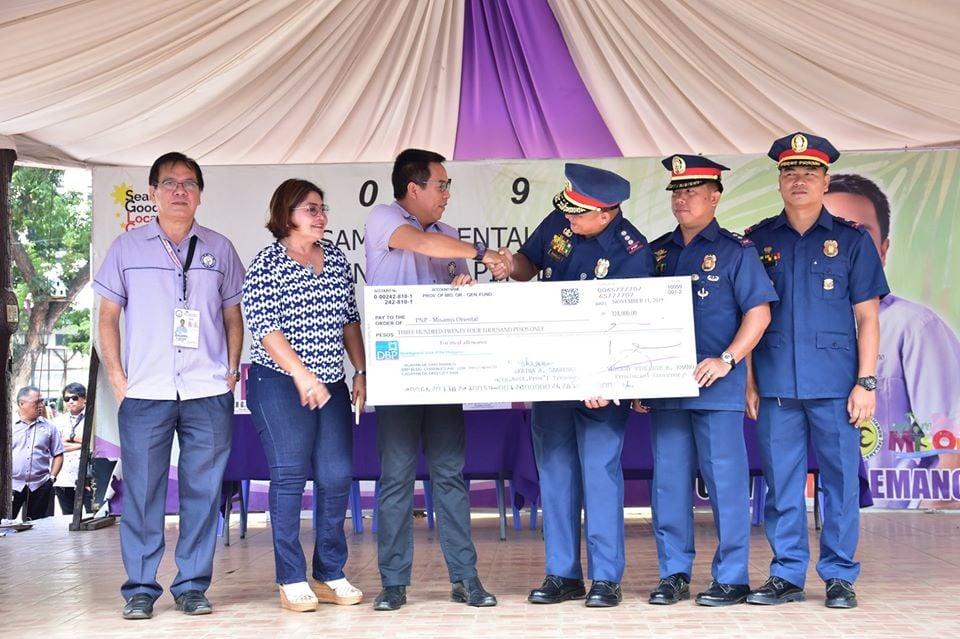 P324, 000 CASH ASSISTANCE GITUNOL NGADTO'S KAPULISAN