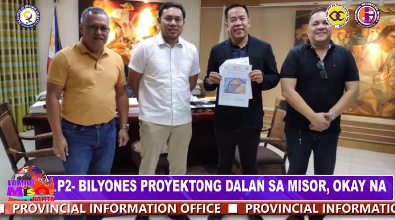 P2-BILYONES PROYEKTONG DALAN SA MISOR, OKAY NA