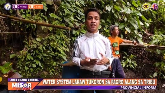 WATER SYSTEM LARAW TUKORON SA PAGRO ALANG SA TRIBU