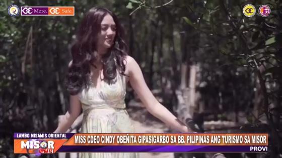 MISS CDEO CINDY OBEÑITA GIPASIGARBO SA BB. PILIPINAS ANG TURISMO SA MISOR