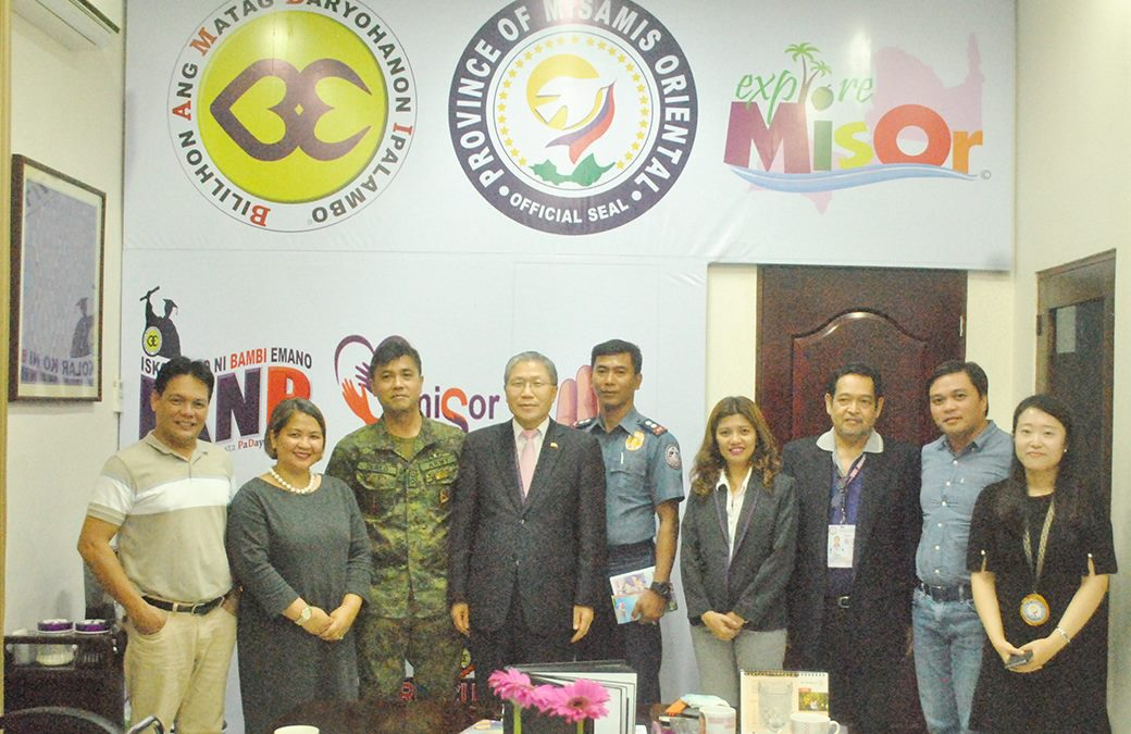 KOREAN AMBASSADOR TO THE PHILIPPINES, MIBISITA SA MISAMIS ORIENTAL