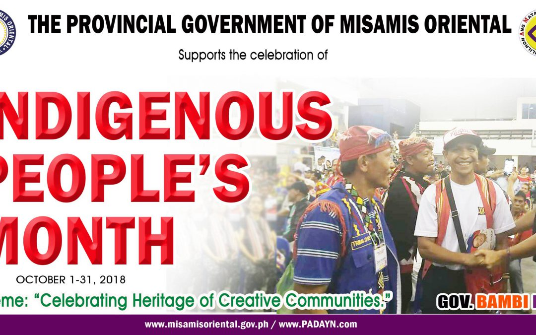 INDIGENOUS PEOPLE'S MONTH