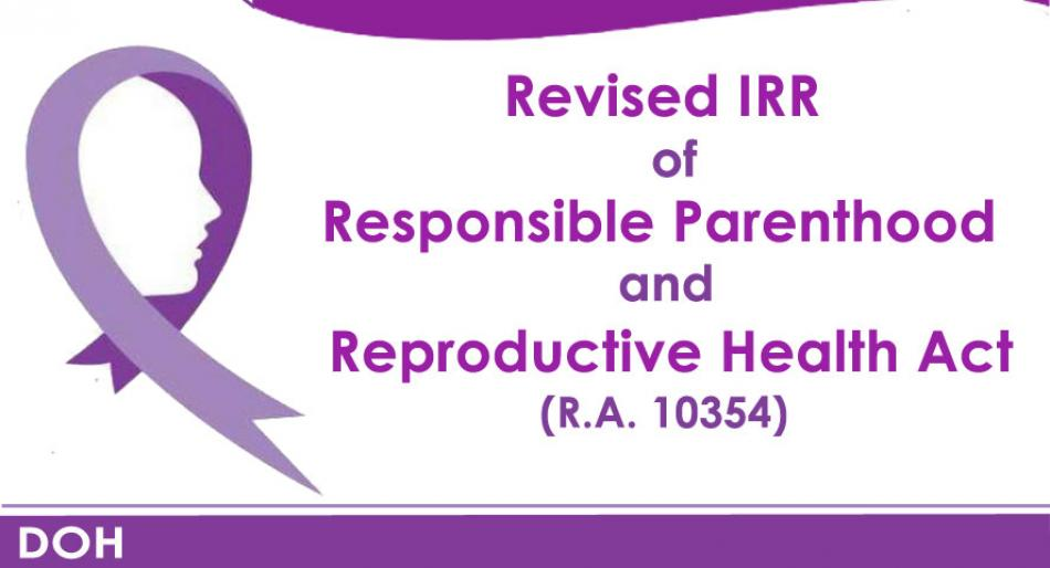 RESPONSIBLE PARENTHOOD & REPRODUCTIVE HEALTH ACT, HINGUSGAN SA KAPITOLYO