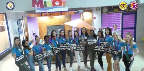 """MISS EARTH CANDIDATES: """"EXPLORE MISOR"""""""