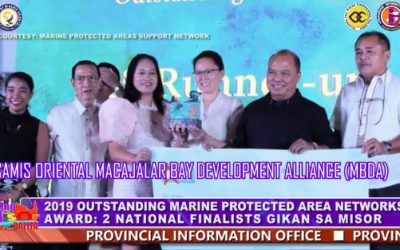 2019 OUTSTANDING MARINE PROTECTED AREA NETWORKS AWARD: 2 NATIONAL FINALISTS GIKAN SA MISOR