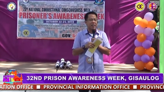 32ND PRISON AWARENESS WEEK, GISAULOG