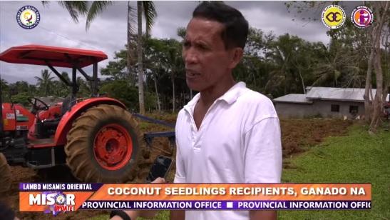 COCONUT SEEDLINGS RECIPIENTS, GANADO NA